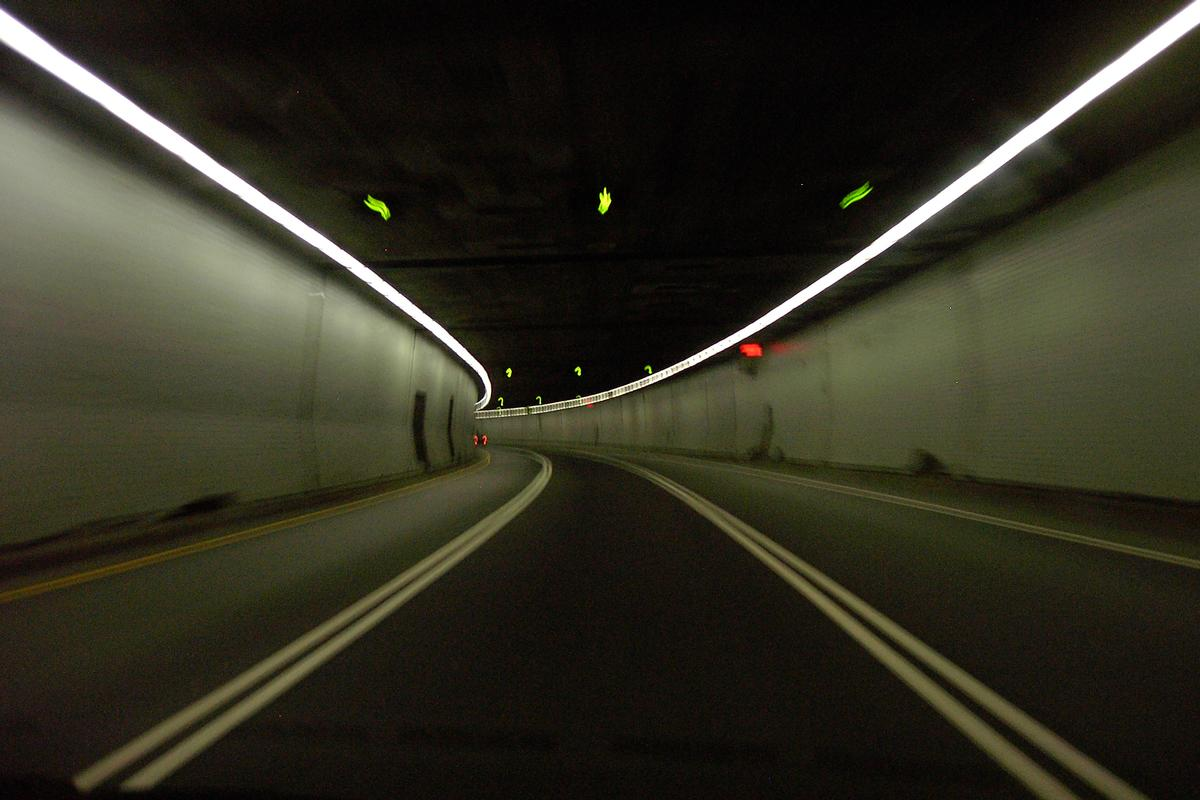 Ville-Marie Tunnel, Montreal, Quebec
