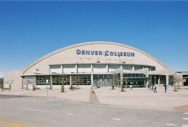 Views of the Denver Coliseum
