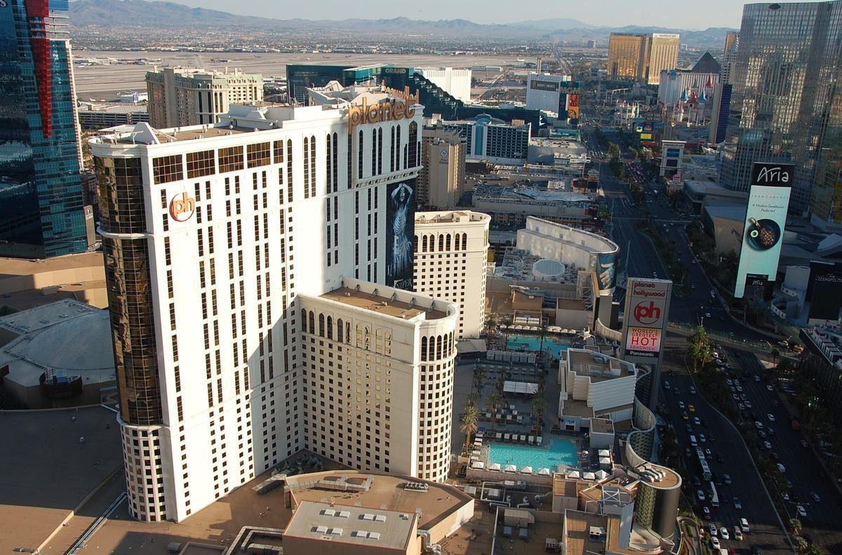 Planet Hollywood Las Vegas (Las Vegas, 2000) | Structurae