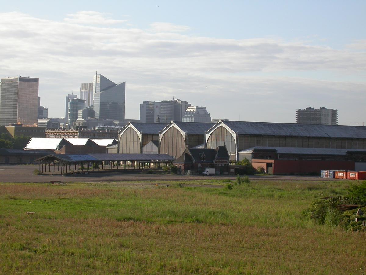 Entrepôts de la gare maritime