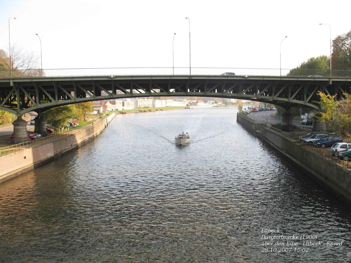 Lübeck - Burgtorbrücke