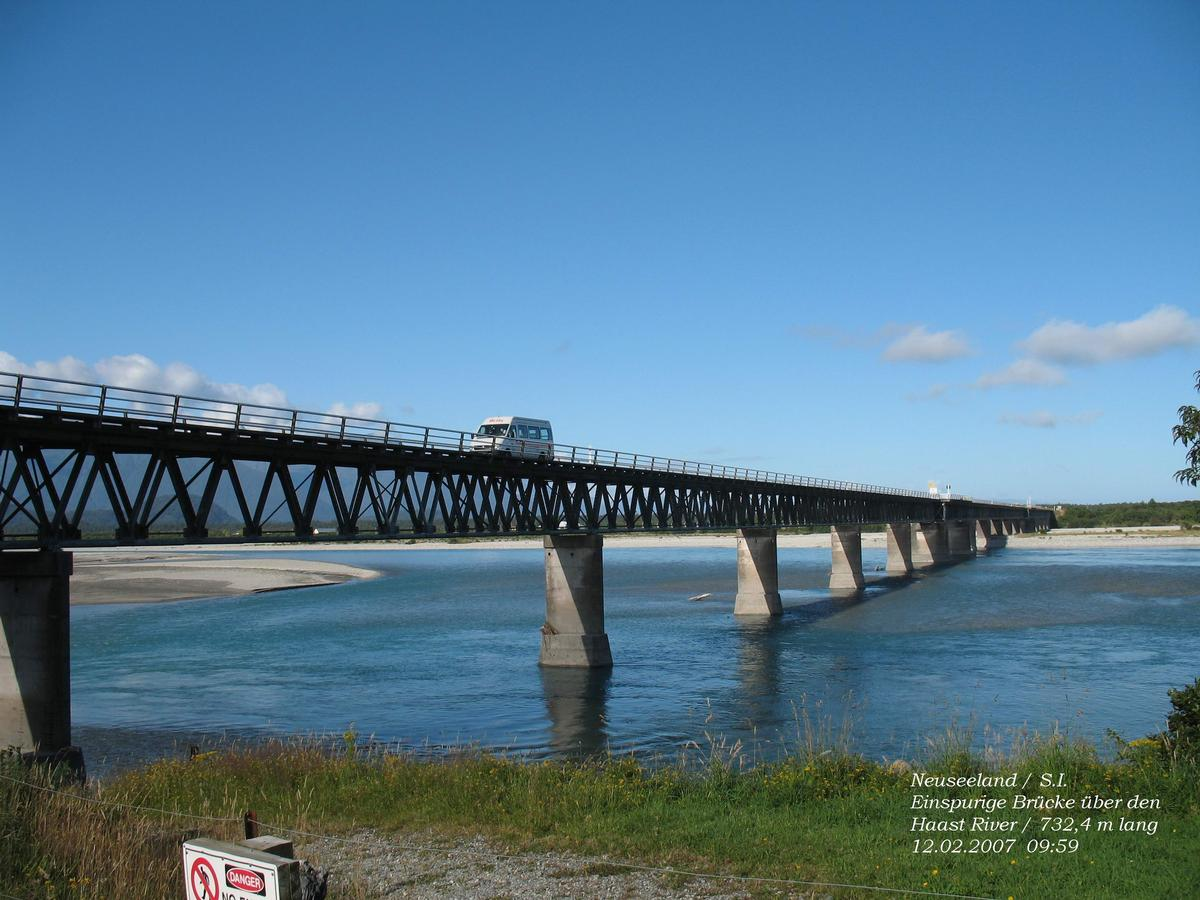 Haast River Mouth Bridge