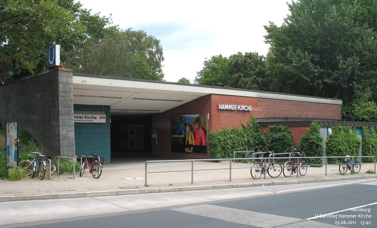 Hammer Kirche Metro Station