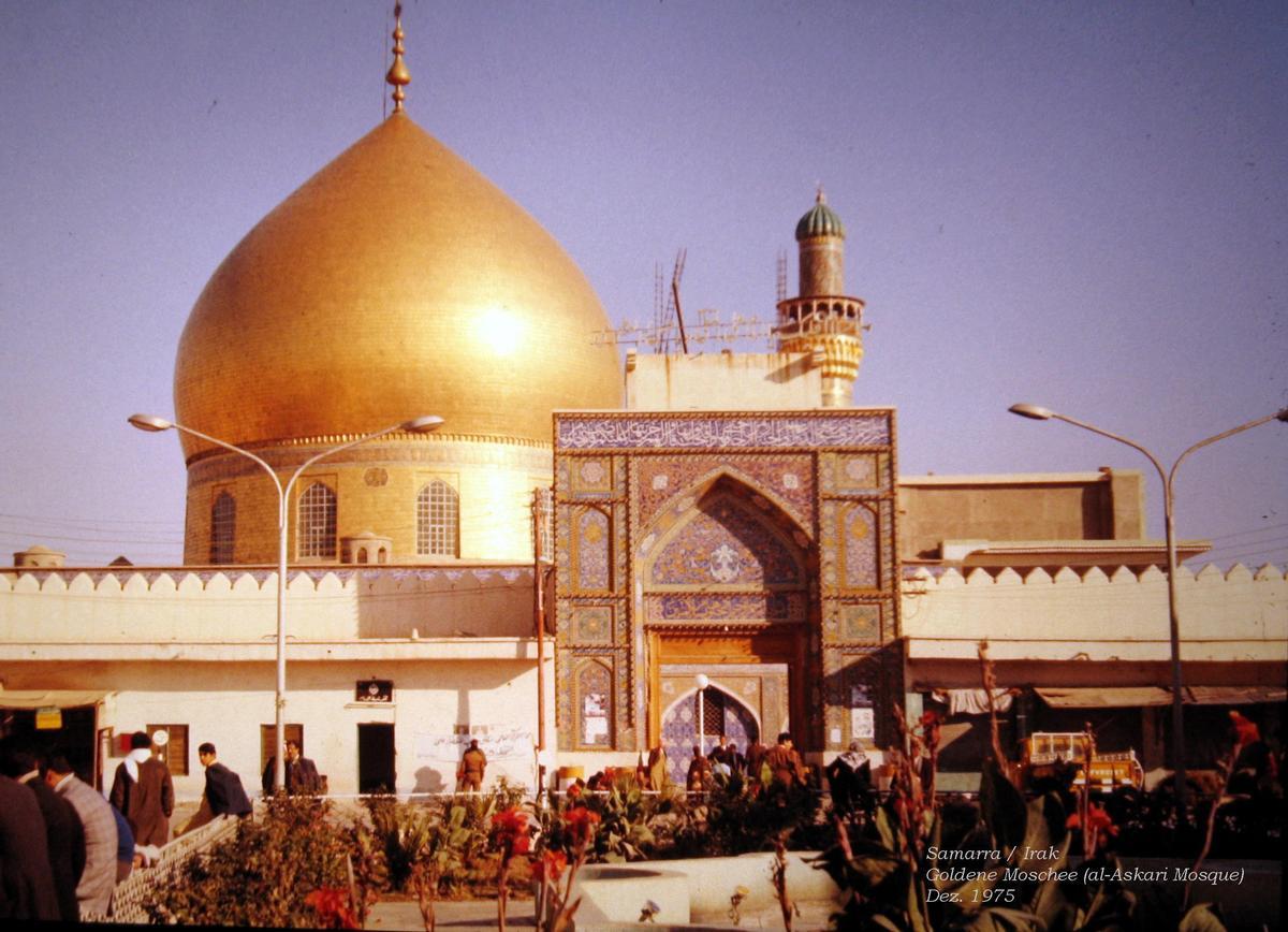 Samarra / Irak: Goldene Moschee