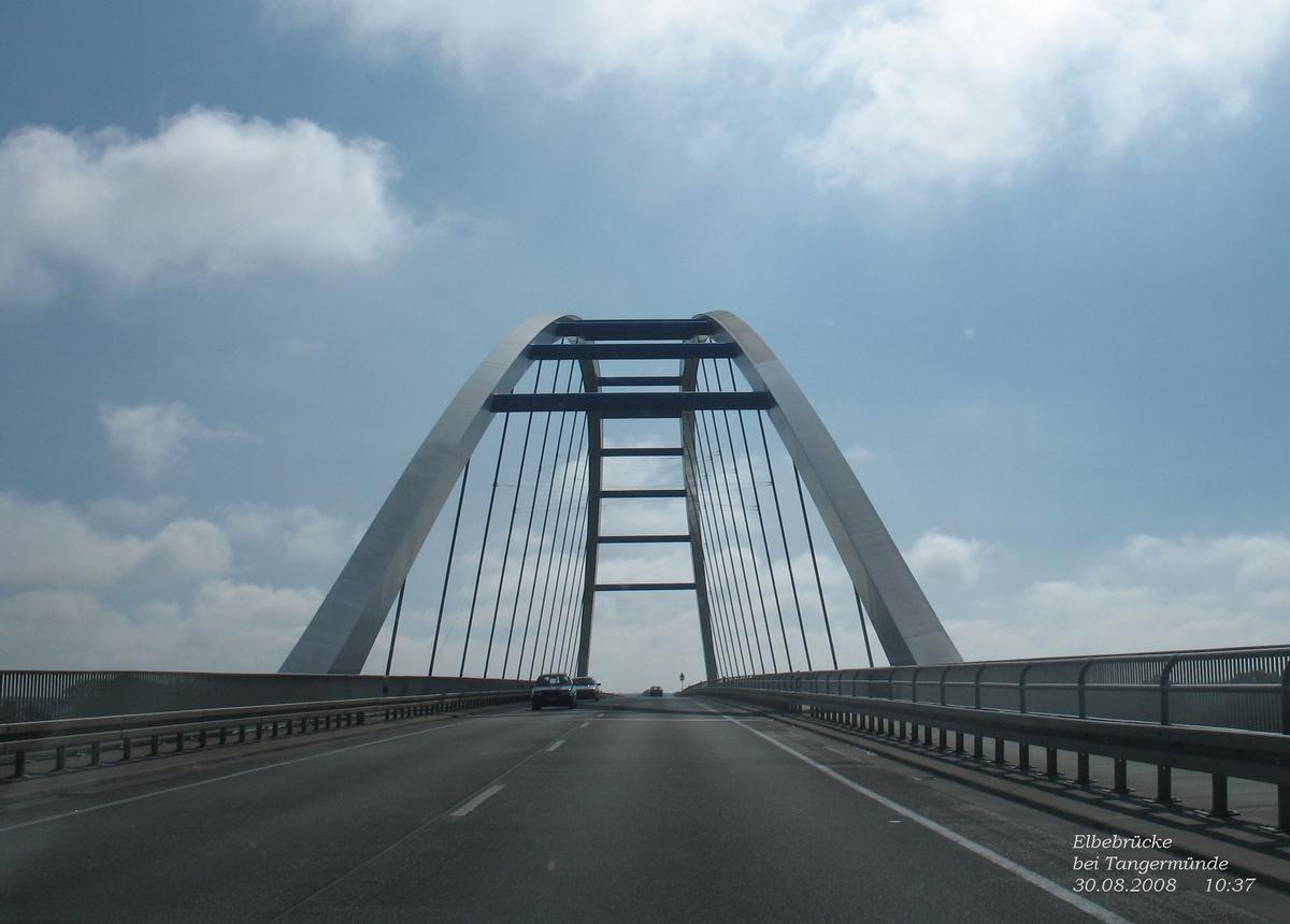 Elbebrücke bei Tangermünde