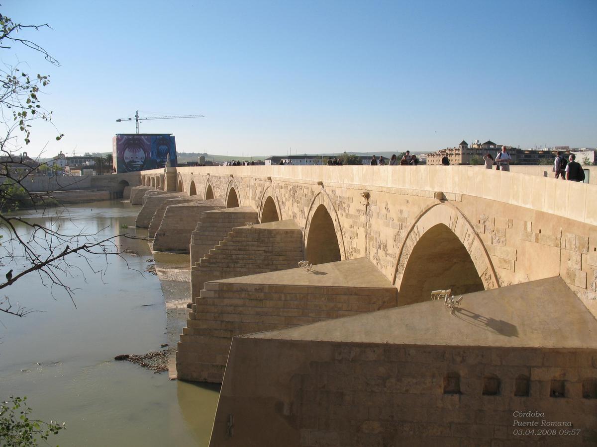 Pont Romain De Cordoue Cordoue Structurae