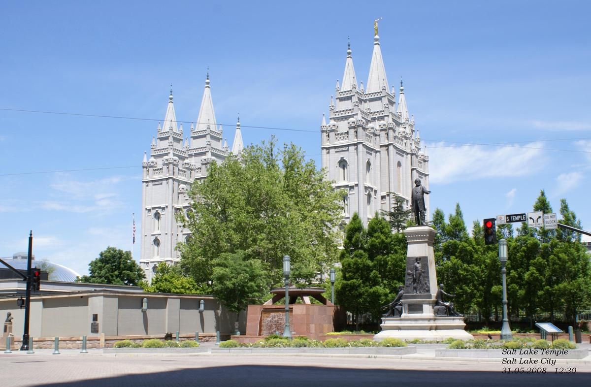 Salt Lake Temple in Salt Lake City