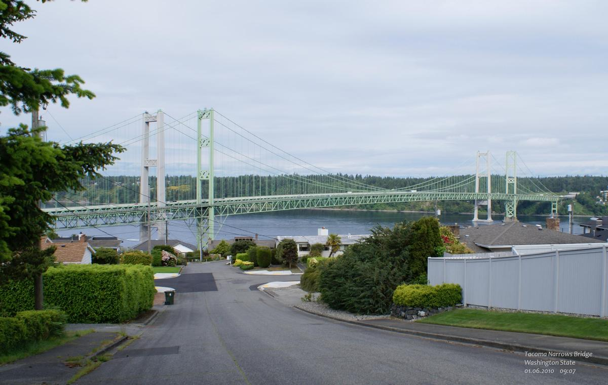 Tacoma Narrows Bridge, Washington State