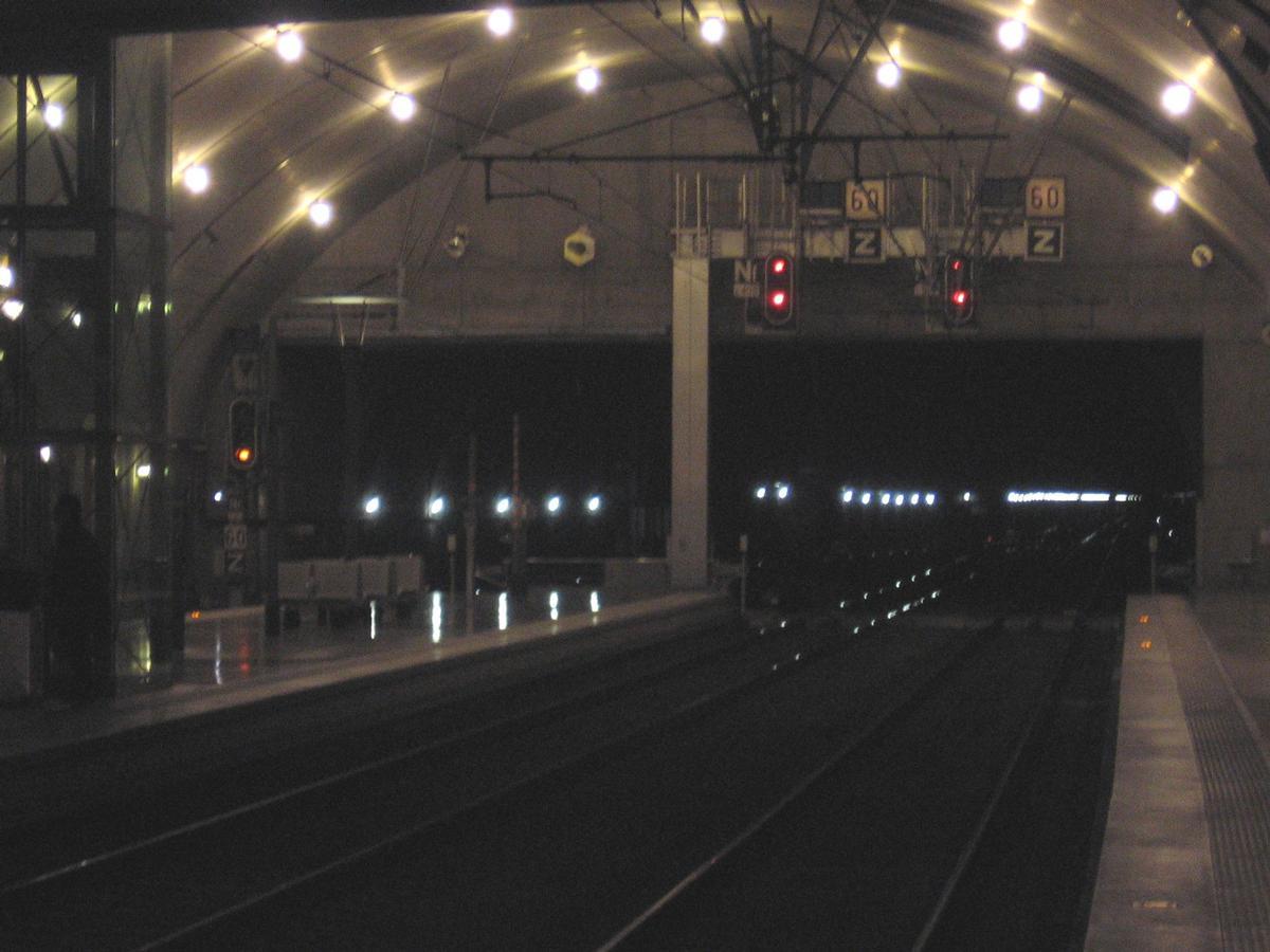 Tunnel ferroviaire de Monte CarloPrincipauté de Monaco