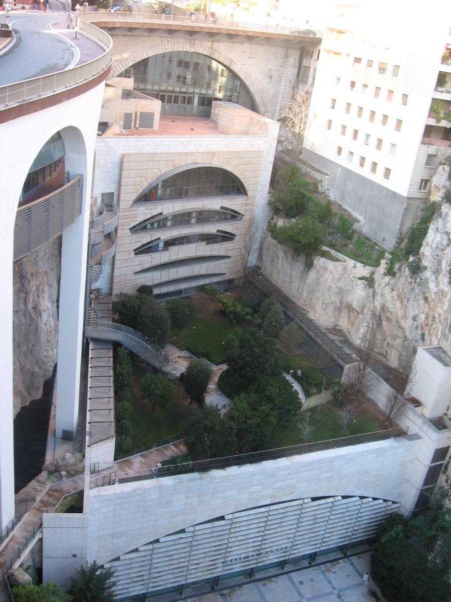 Monaco Underground Railway Station (Les Moneghetti, 1999) | Structurae