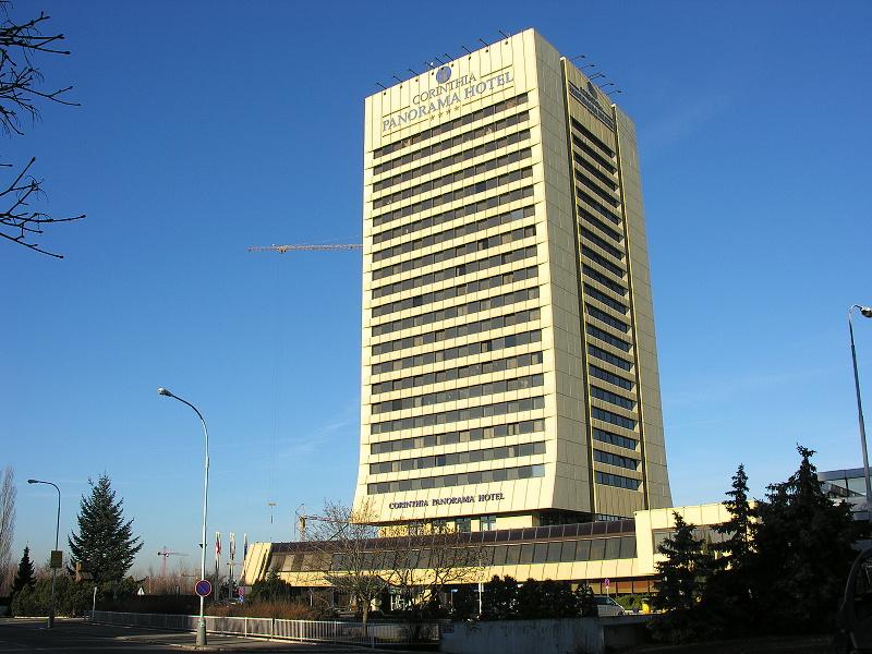 Corinthia towers hotel prague 1988 structurae for Hotel panorama