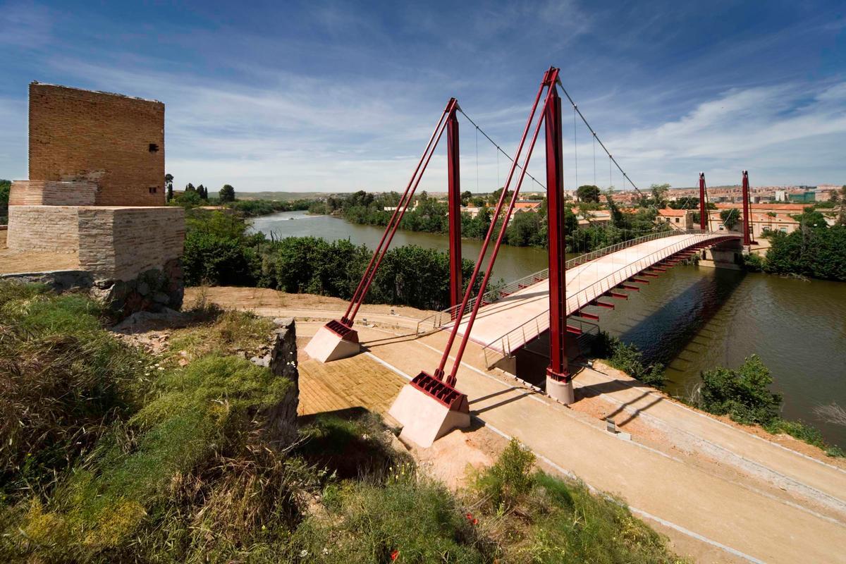 Pont suspendu de Toledo