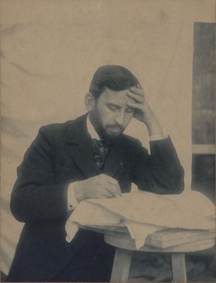 Georges Chedanne Foto aus der Privatsammlung seiner Nachfahren