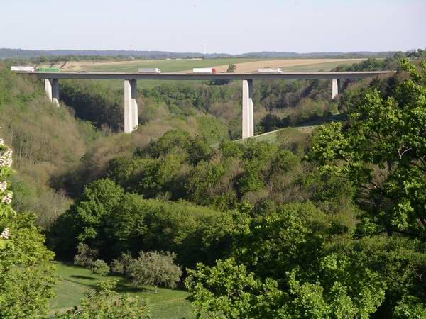 Autobhan A 6 - Jagsttalbrücke
