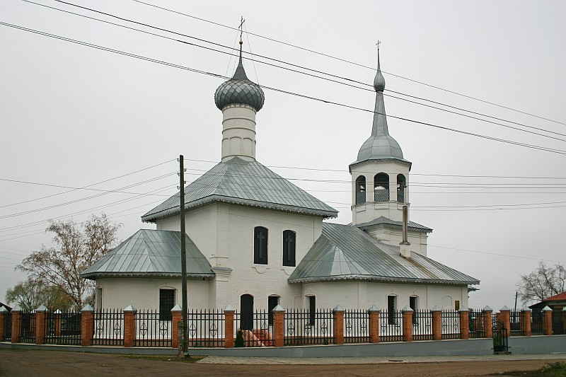 Church of St. Nikolaya 18 century. Rostov (Rostov the Great), Yaroslavl Oblast, Russia