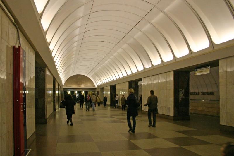 Metrobahnhof Krestjanskaja Zastava in Moskau