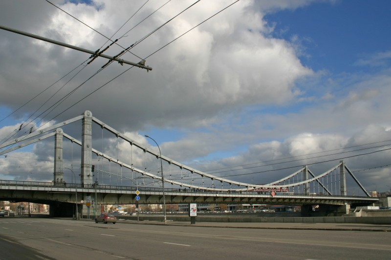 Krimsky Bridge, Moscow