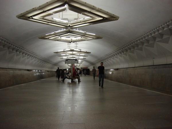 Metrobahnhof Tulskaja, Moskau