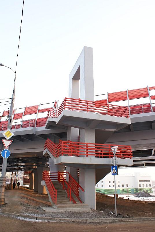 Serebrjanij Bor-Brücke, Moskau