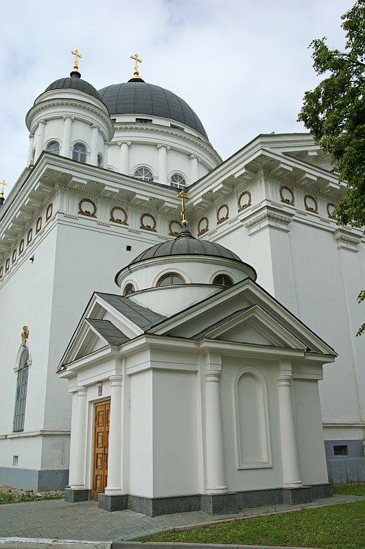 Media File No. 113969 Tranfiguration cathedral (Староярмарочный собор) Nizhny Novgorod, Nizhny Novgorod Oblast, Russia Yarmarochniy pr. 1822 arch. Auguste de Montferrand