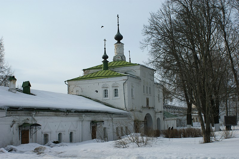 Feodor Stratilat Church 17th century. Alexsandrovskaya sloboda. Alexsandrov, Vladimirskaya Oblast, Russia