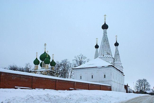 Assumption Church (Divnaya) 1628, The Alekseevsky monastery, Uglich, Yaroslavl Oblast, Russia
