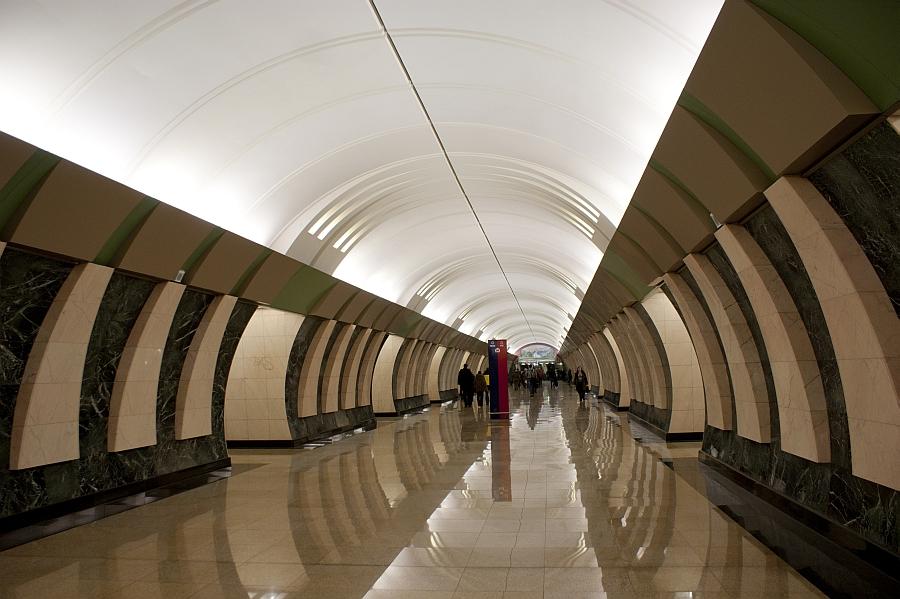 Metrobahnhof Marina Roschtscha