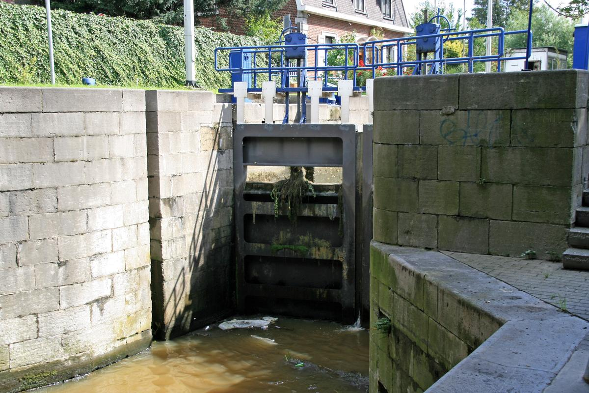 Schleuse in Angleur