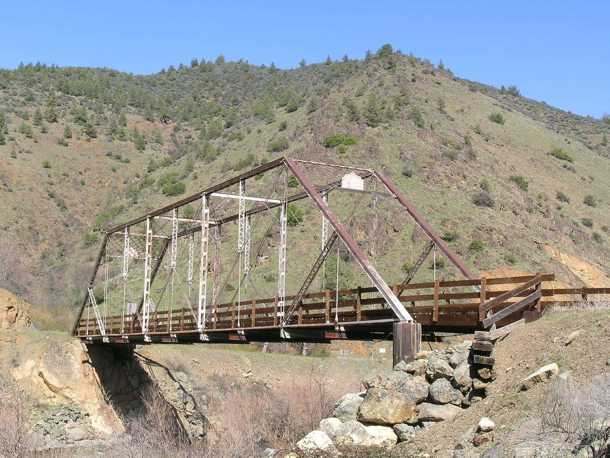 Ash Creek Bridge - Klamath River