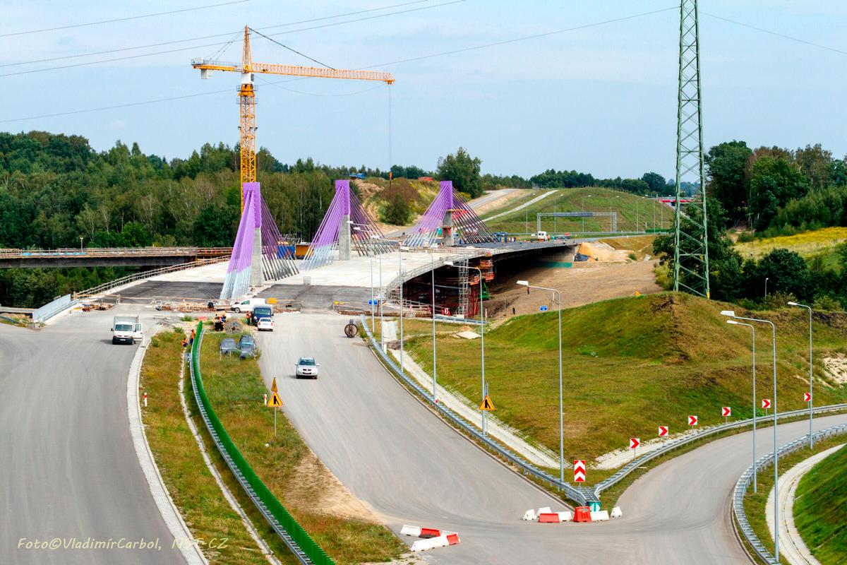Mszana A1 Motorway Bridge