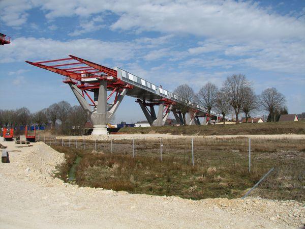 TGV Rhine-Rhone – Savoureuse Viaduct