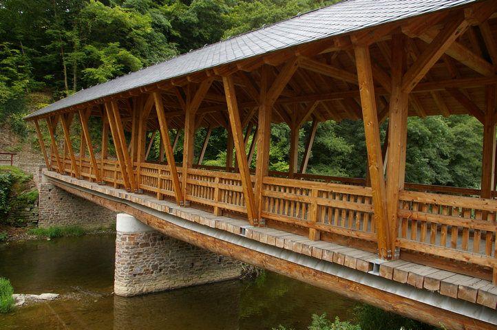 pont couvert sur l 39 ahr altenahr 2000 structurae. Black Bedroom Furniture Sets. Home Design Ideas