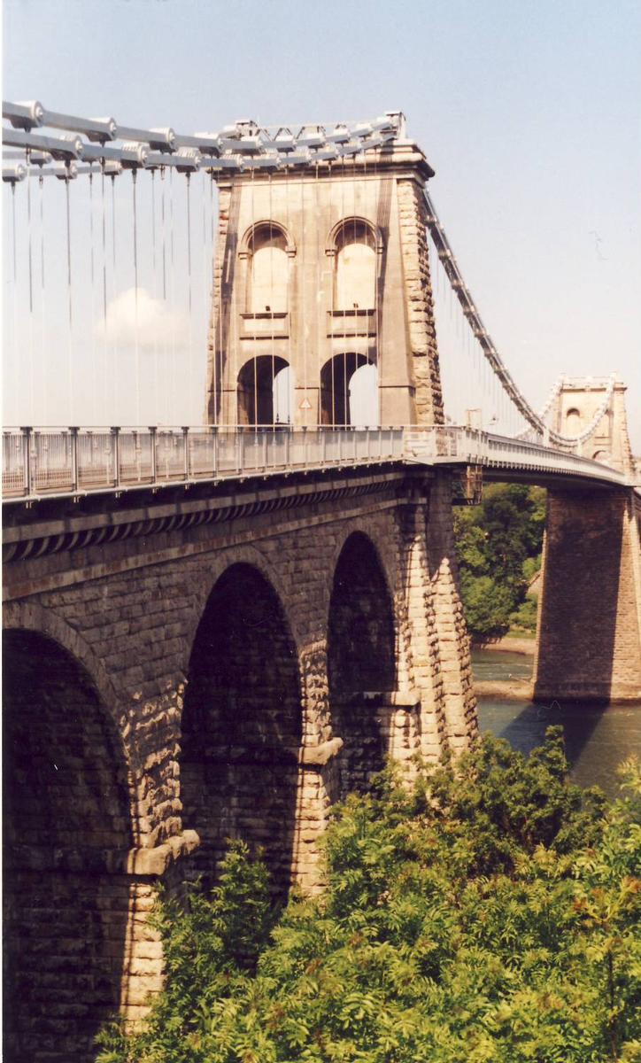 Menai-Brücke