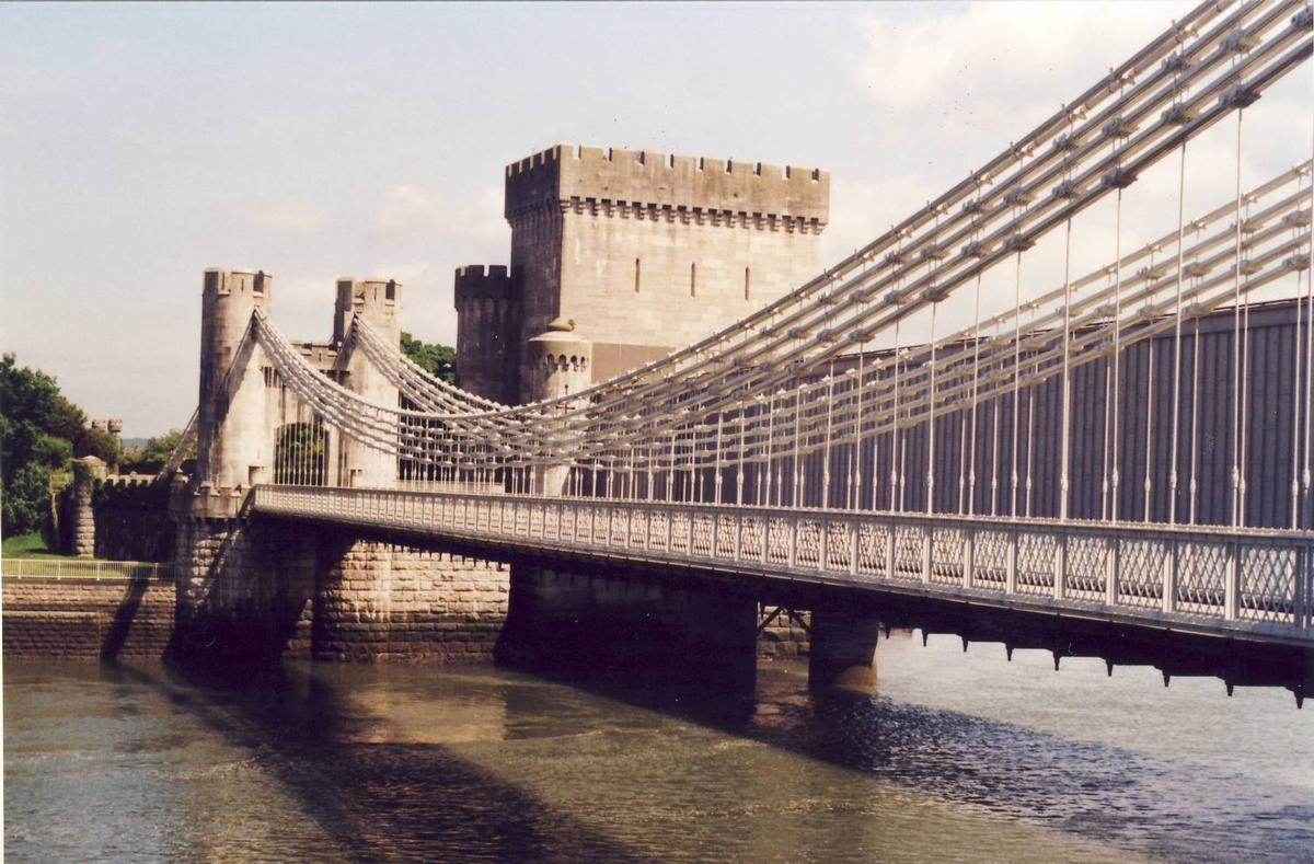Conwy Castle Bridge
