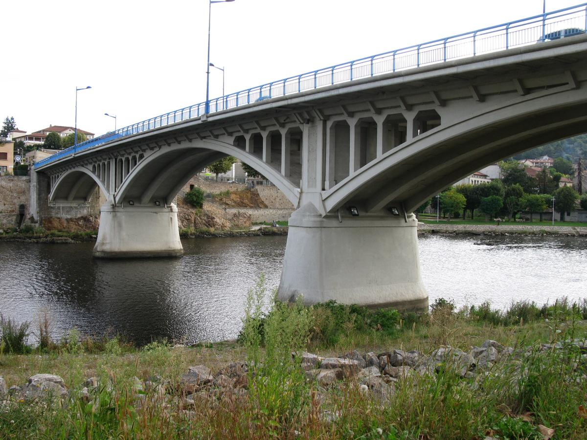 Saint-Just-Saint-Rambert Bridge