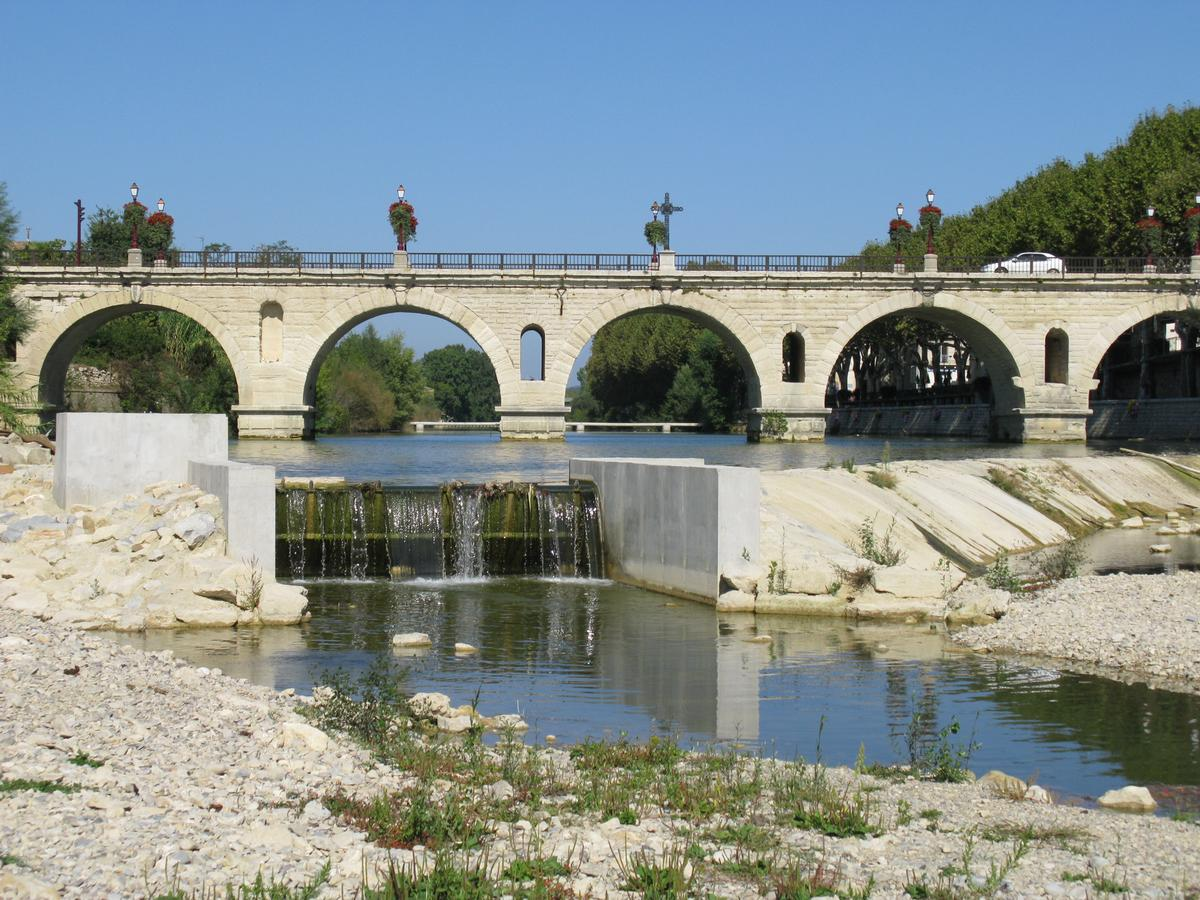 Sommières Roman Bridge