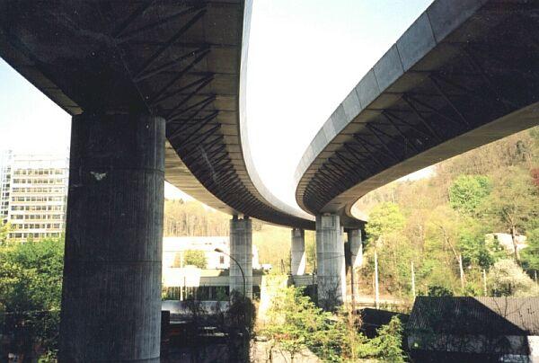 Nesenbachtalbrücke, Stuttgart.