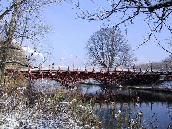 Thalkirchner Brücke in München.