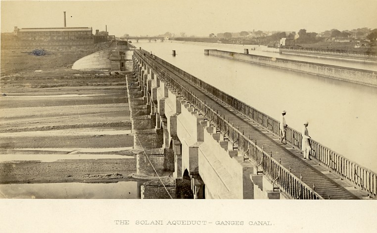 The Solani aqueduct - Ganges Canal