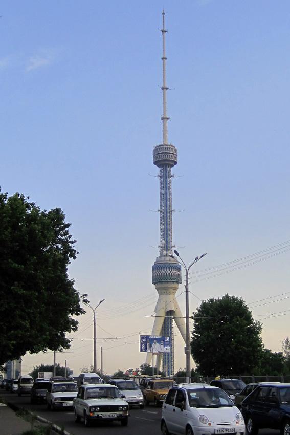 Tashkent Tower (Tashkent, 1985) | Structurae