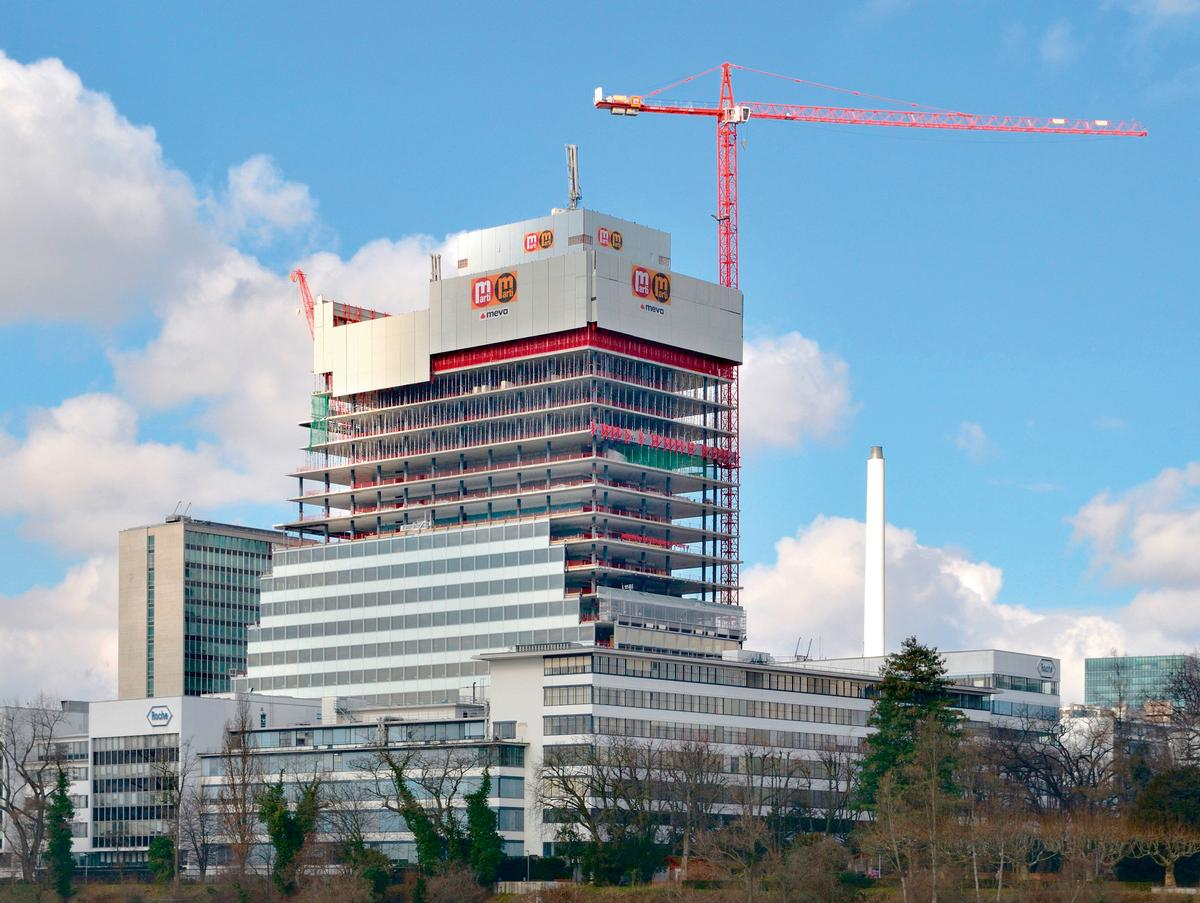 Sustainable, safe and efficient high-rise construc
