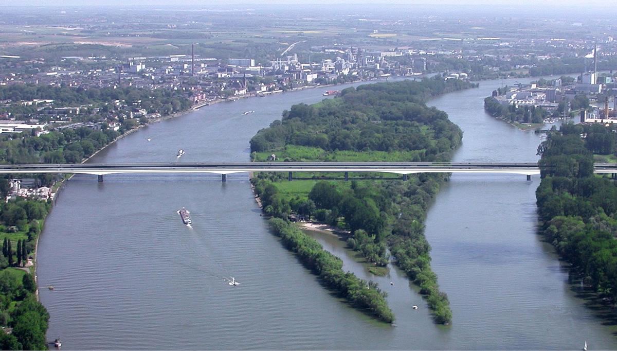 Rheinbrücke Wiesbaden-Schierstein