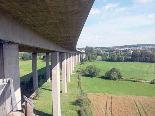 Fuldatalbrücke Eichenzell (A7)