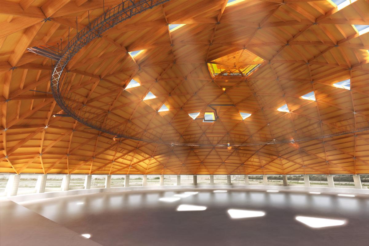 Rendering der inneren Kuppel