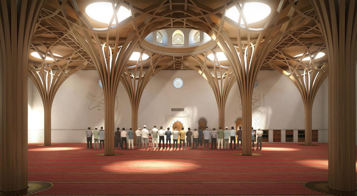 Simulation: Gebetssaal