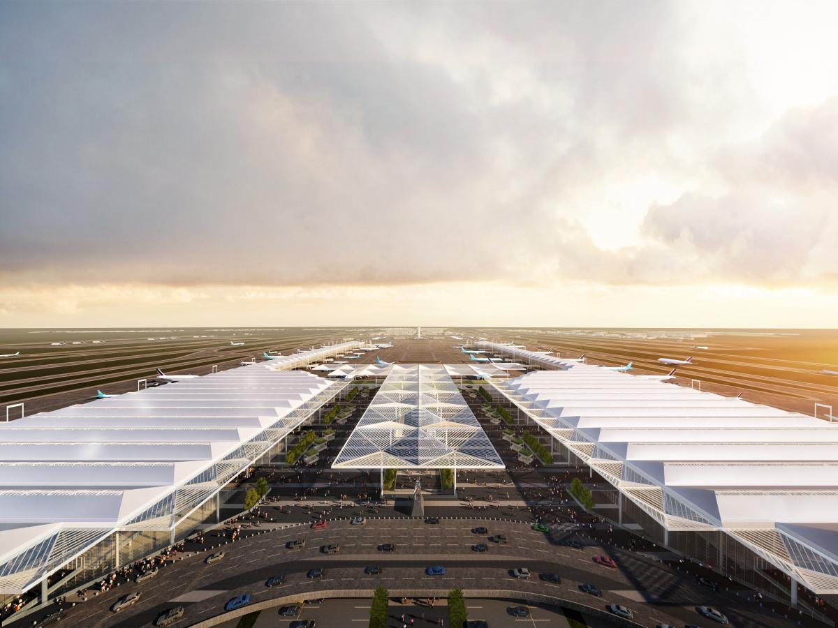 Aéroport international Felipe Ángeles - Aérogare 1