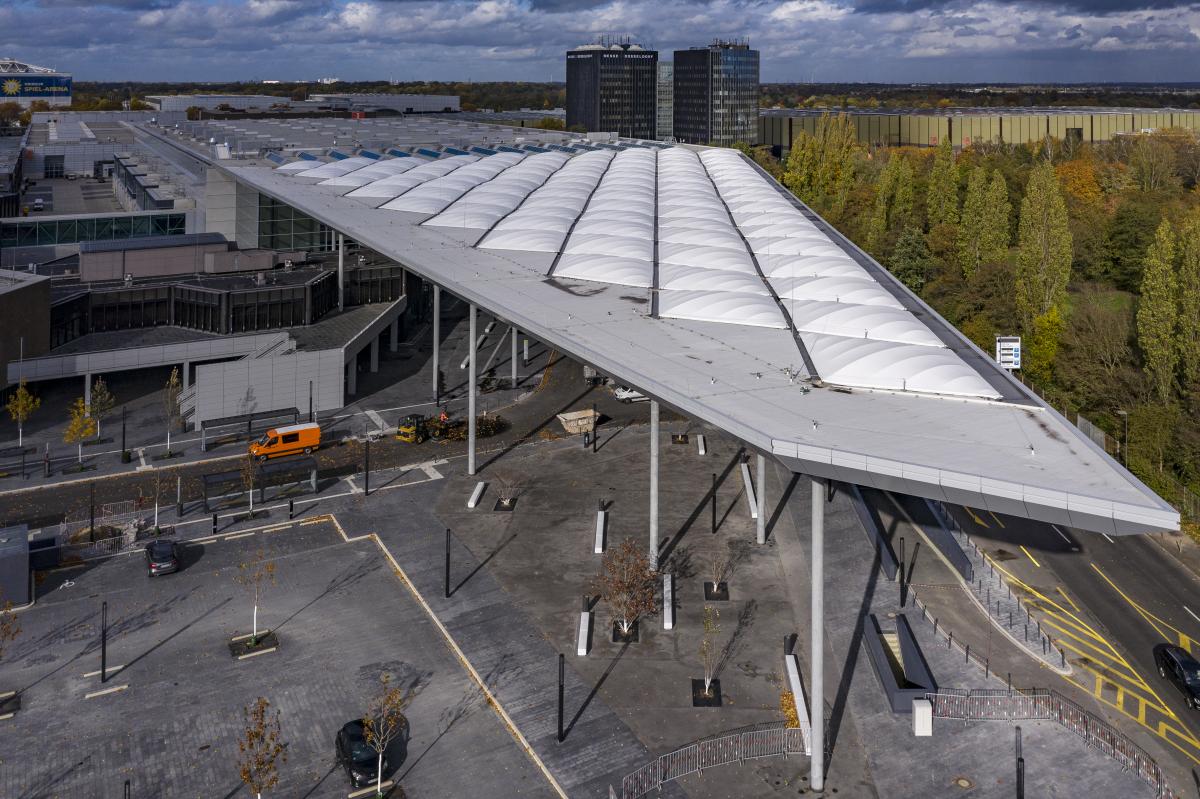 Messe Düsseldorf - Entrée Sud