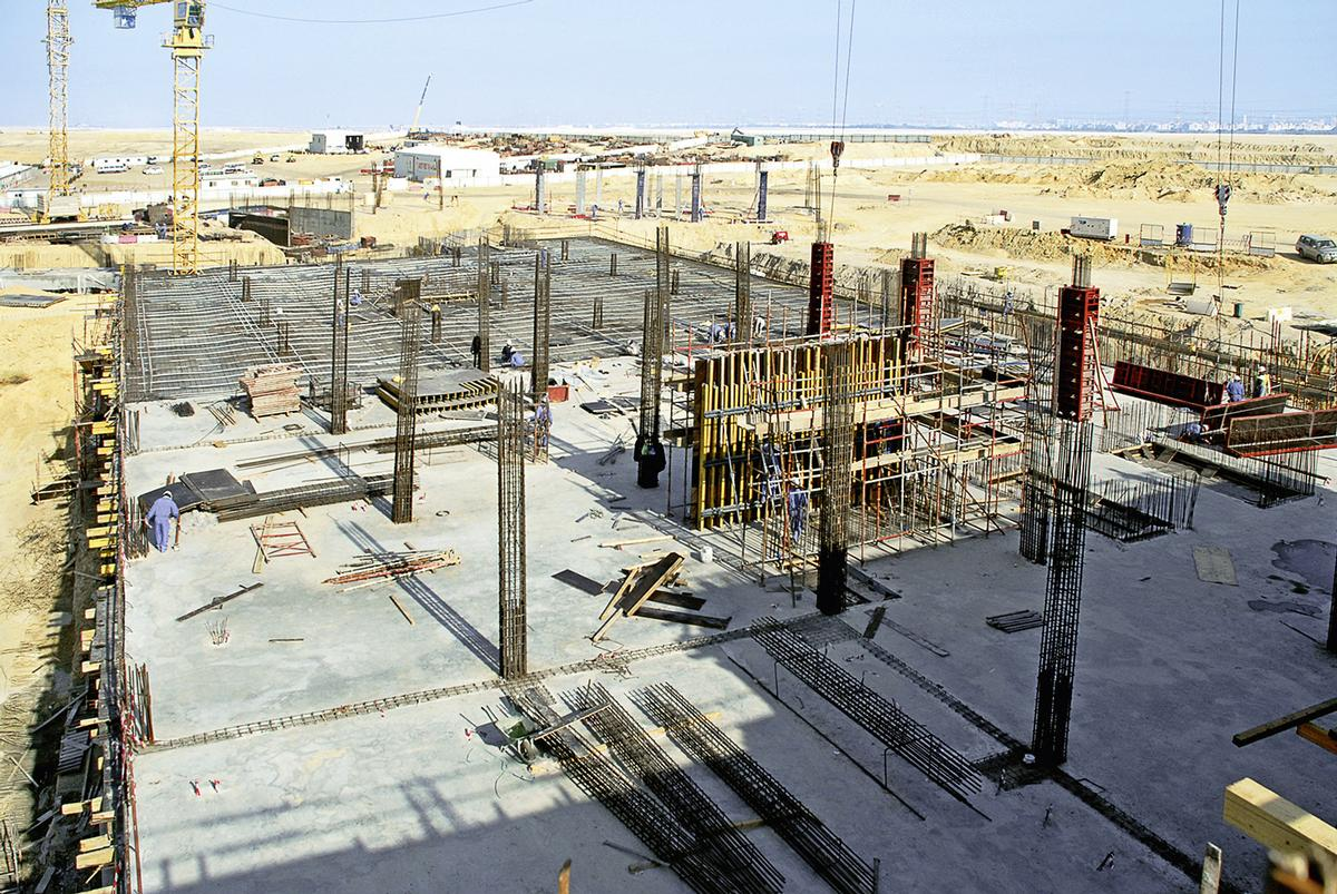 New Al Tameer office building during construction