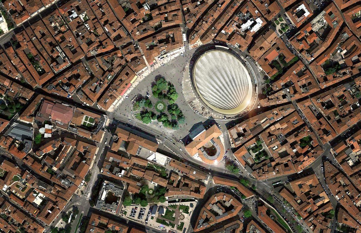 Couverture des Arènes de Vérone