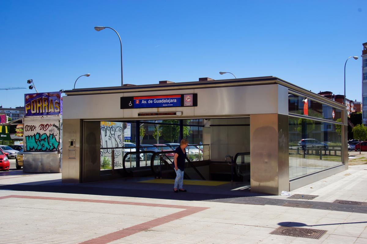 Station de métro Avenida de Guadalajara